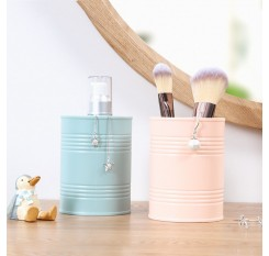 1 Piece Pencils Holder Simple Solid Color Durable Cosmetics Box