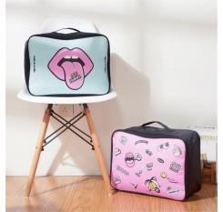 1 Piece Travelling Cosmetics Bag Cartoon Portable Storage Bag