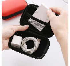1 Piece Travel Storage Bag Mobile Phone USB Earphone Cables Organizer Coin Zipper Bag Mini Travel Goods