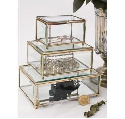 1 Pc Jewelry Box Nordic Style Multi-Purpose Jewelry Cosmetic Container