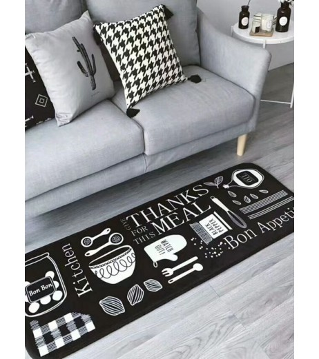 1 Pc Mat Antislip Lovely Pattern Cozy Bedroom Home Decoration