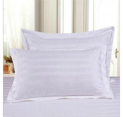 1 Piece Bed Pillow Core Solid Color Supple Thick Sleeping Pillow