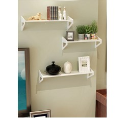 1 Pc Wall Rack Simple Style Decorative Organizing Shelf