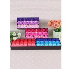 18 Roses Gift Box Rose Soap Flower Gift Package Artificial Flower Decor