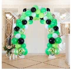 112 Pieces Balloon Set Garland Candy Color Wedding Party Birthday Wall Decorations Home
