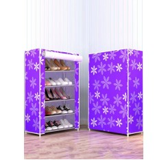 1 Pc Shoesshelf Simple DIY Multi-layer Dust Proof Shoes Organizer