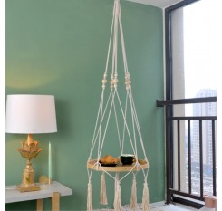 1 Piece Creative Hanging Teapoy Nordic Style Bedside Storage Tray