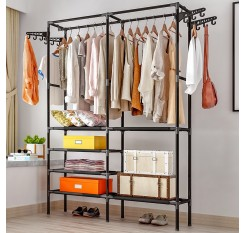 1 Pc Wardrobe DIY Space Saving Multipurpose Clothes Storage Cabinet
